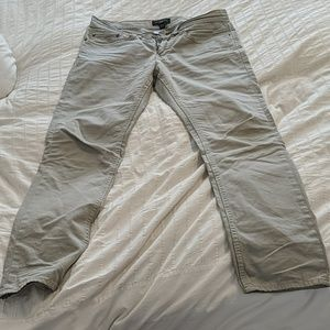 Banana Republic Grey Chino Pants